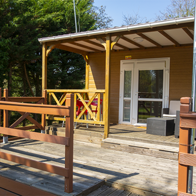 Location chalet 2 personnes Camping Oasis du Berry