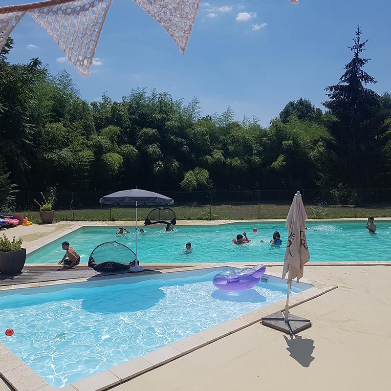 Activités du camping : la piscine